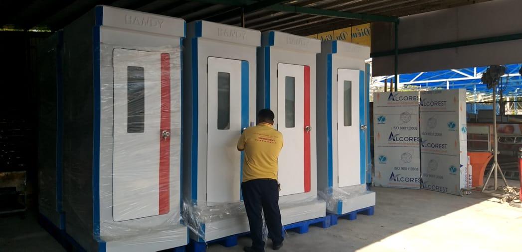 Cho thuê nhà vệ sinh di động đơn cao cấp