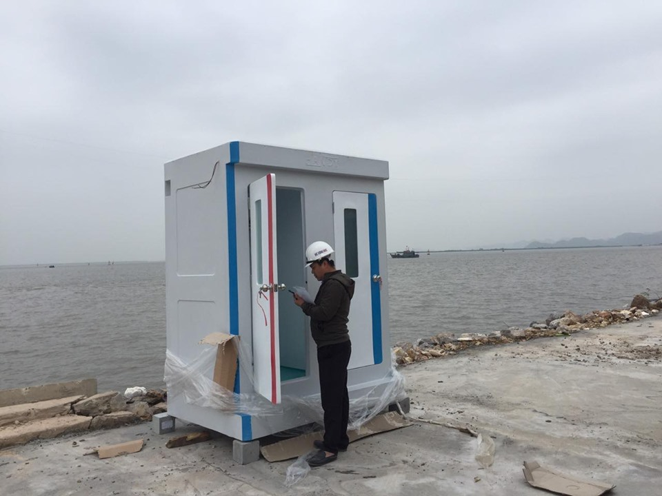 Cho thuê nhà vệ sinh công trình