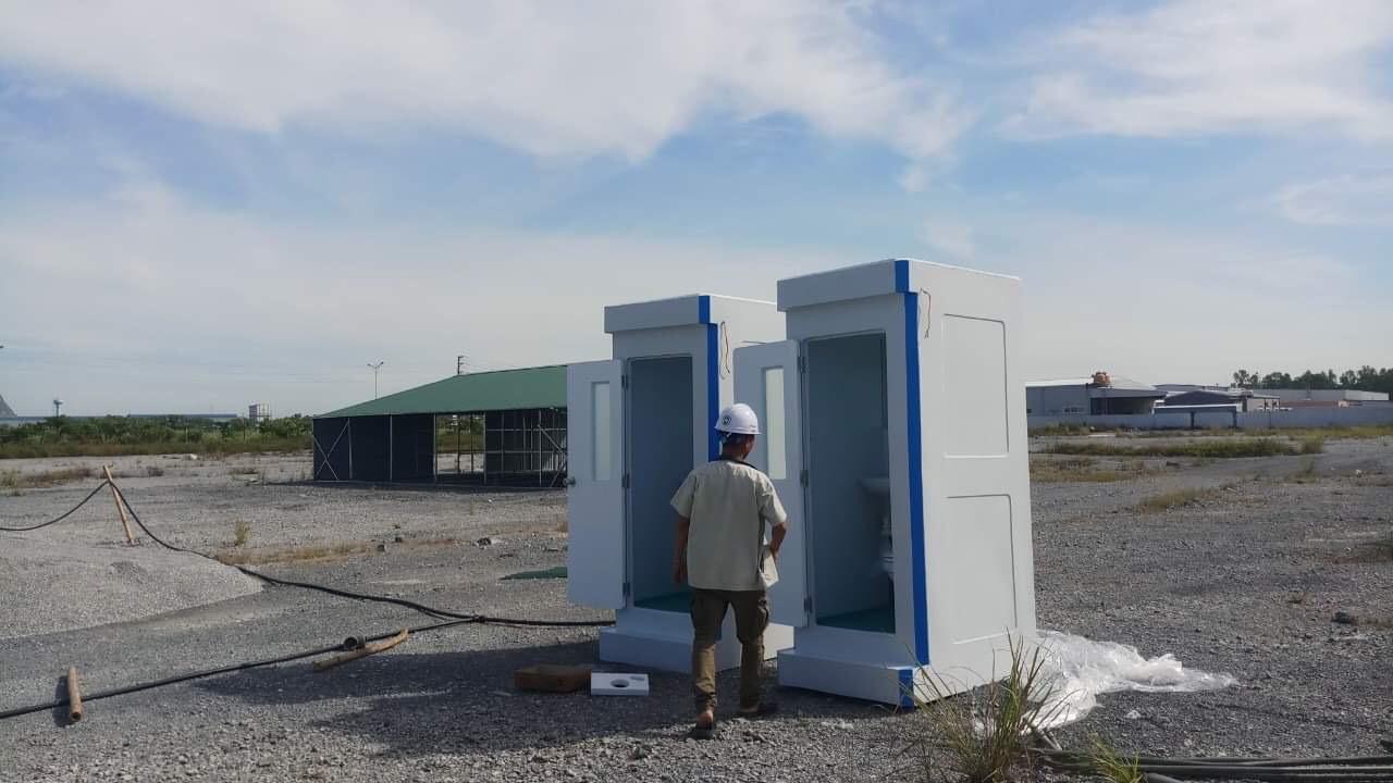 Nhà vệ sinh di động tiêu chuẩn quốc tế