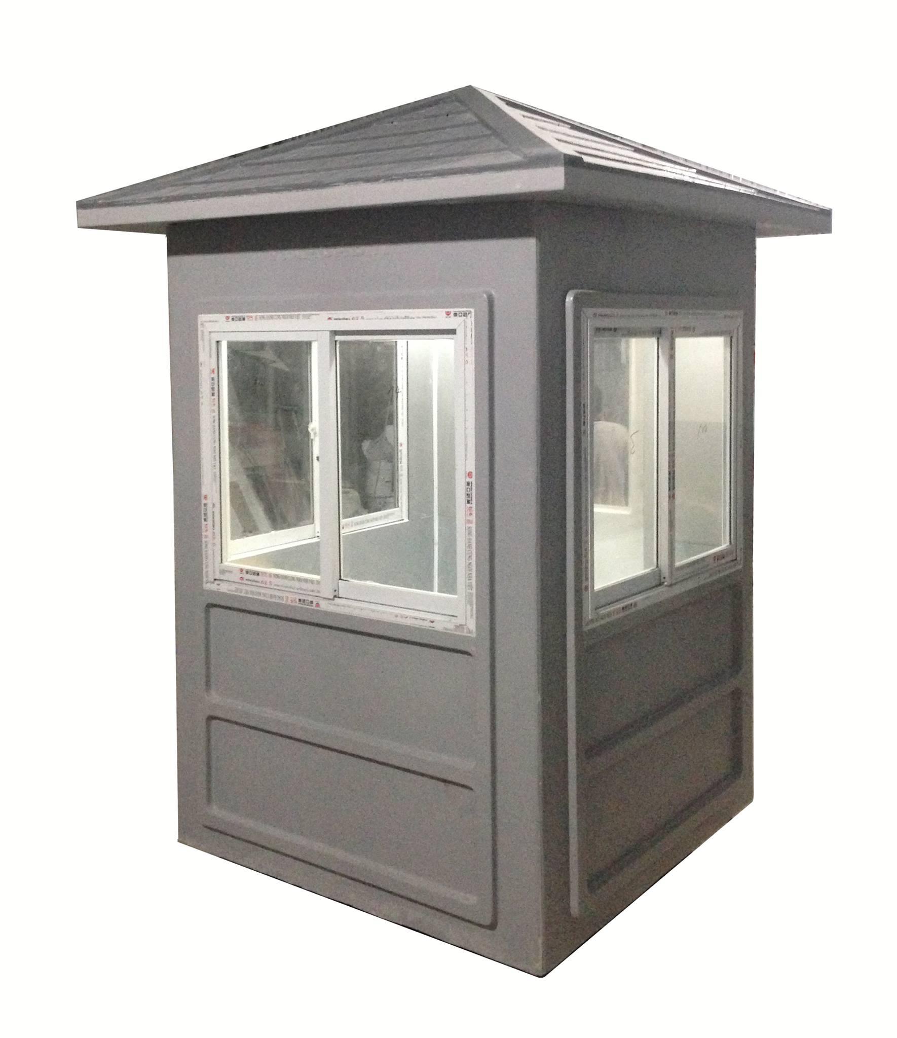 Nhà bảo vệ composite mái nhọn