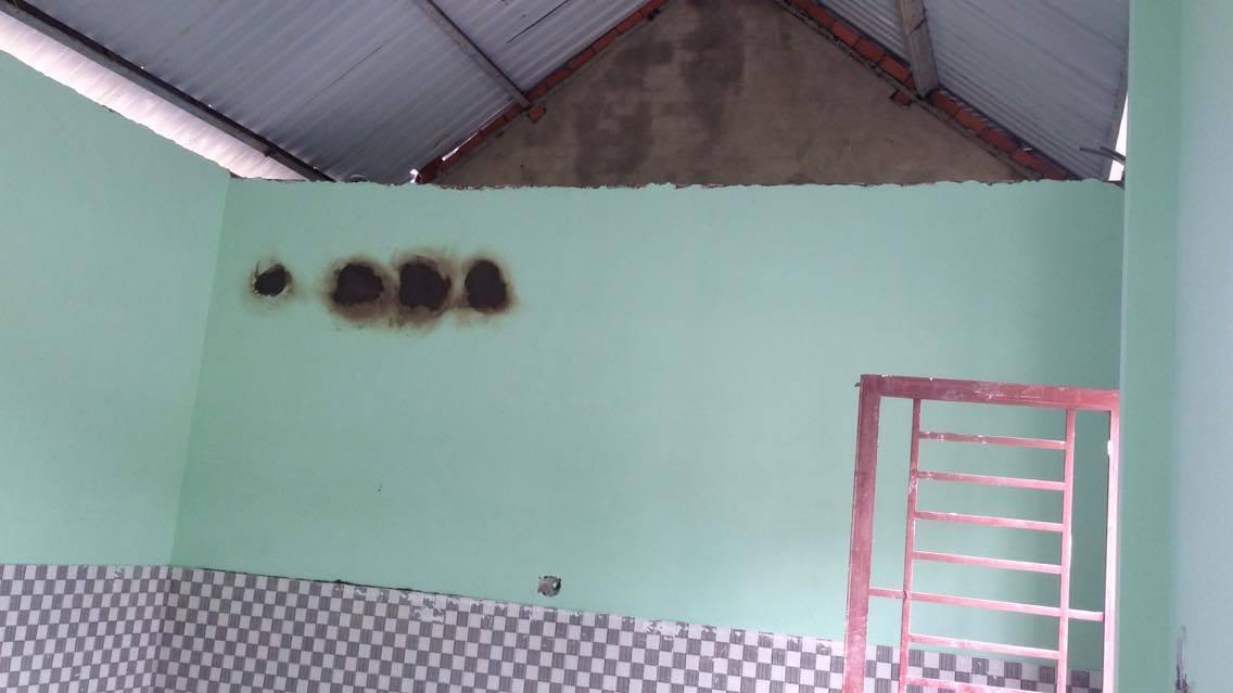 Phòng bảo vệ và nhà điều hành cũng đã xây dựng xong, đang trong quá trình làm nội thất