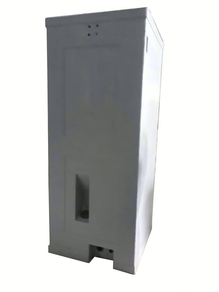 Cửa hút bể phốt được bố trí ra bên ngoài