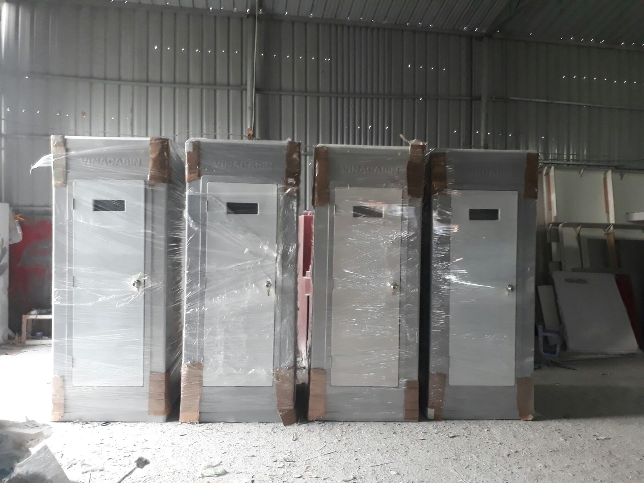 Nhà vệ sinh di động V17.3 đã được giao tới khách hàngNhà vệ sinh di động V17.3 đã được giao tới khách hàng