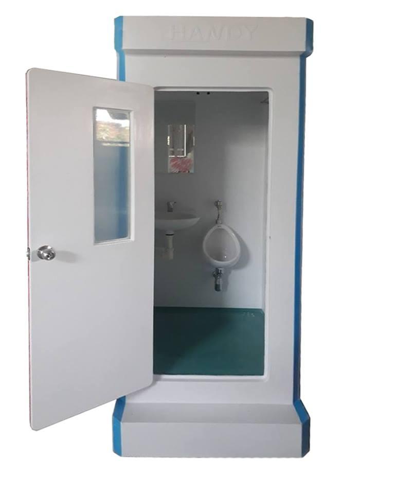 Nhà vệ sinh di động lắp chậu tiểu namNhà vệ sinh di động lắp chậu tiểu nam