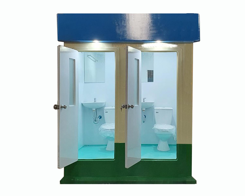 Nội thất nhà vệ sinh đôi Vinacabin