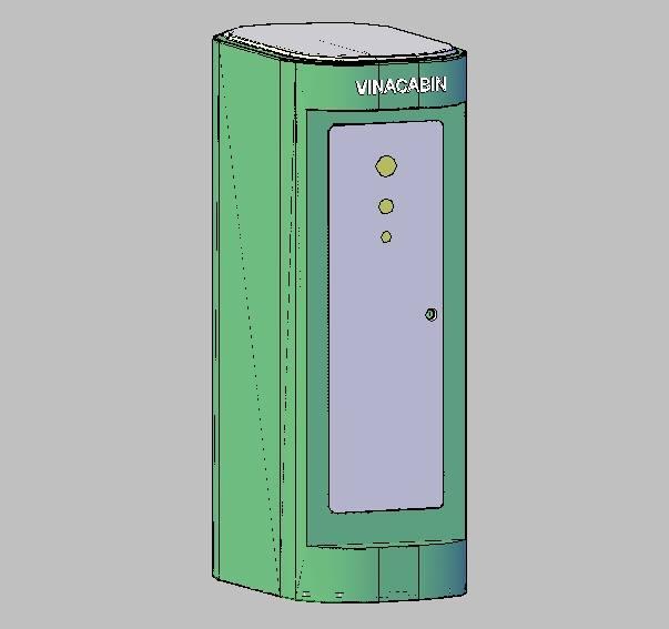 Nhà vệ sinh di động 2019 với thiết kế chống va đập