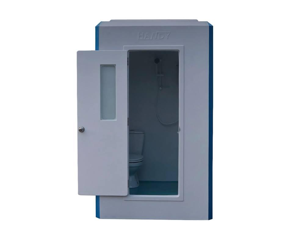 Nhà vệ sinh di động kiêm phòng tắm