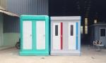 Nhà vệ sinh di động đôi Vinacabin và Handy