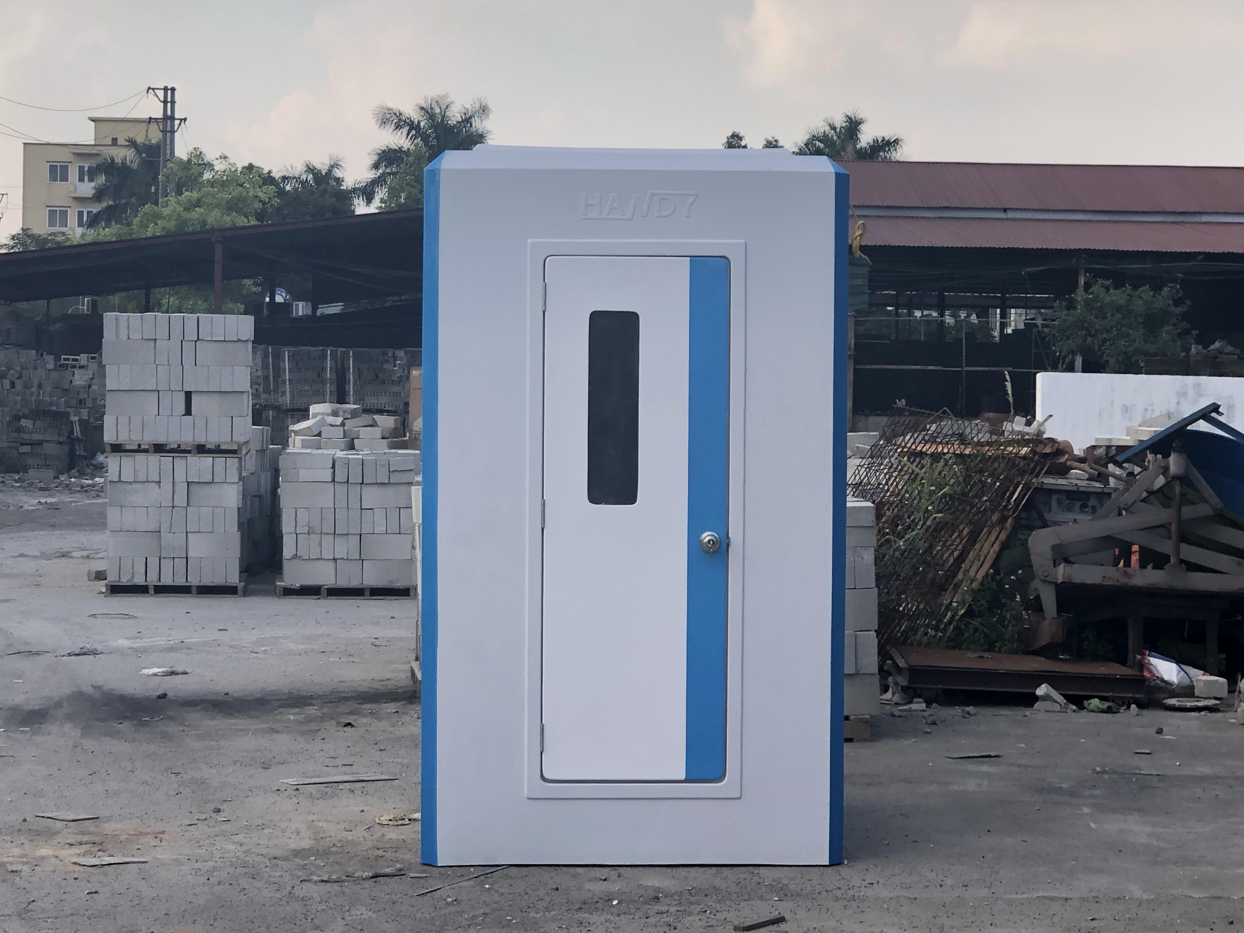 Nhà vệ sinh lưu động liền cabin tắm 2 trong 1