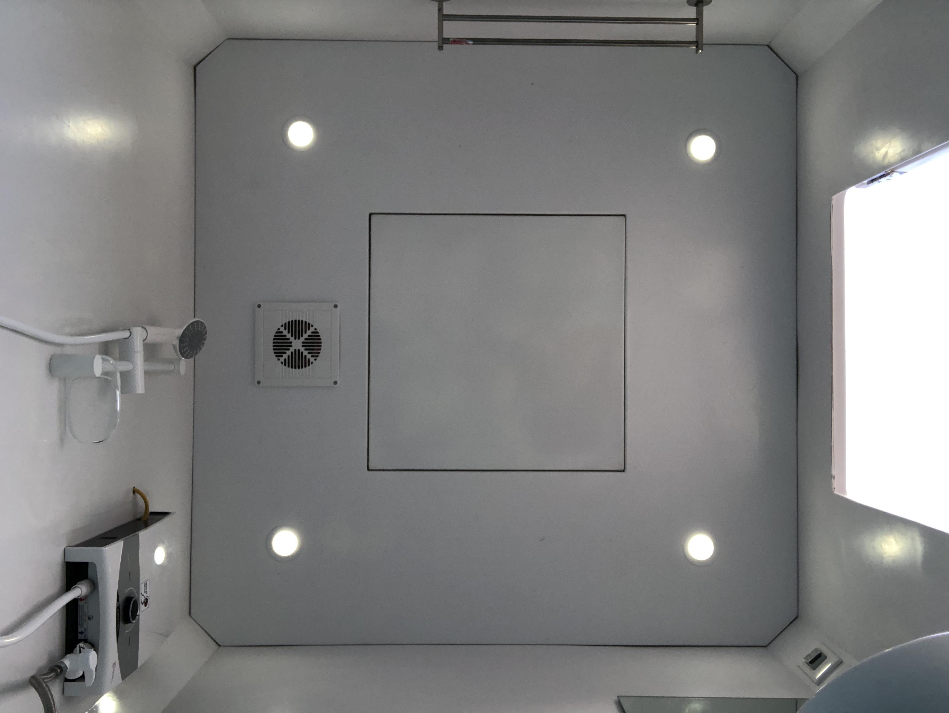 Hệ thống đèn dowlight, quạt thông gió âm trần