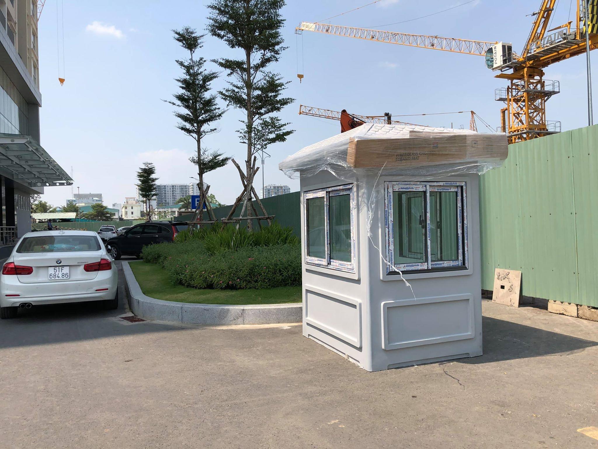 Tất cả các cabin chốt gác Vinacabin đều có thể dễ dàng lắp đặt và di chuyển