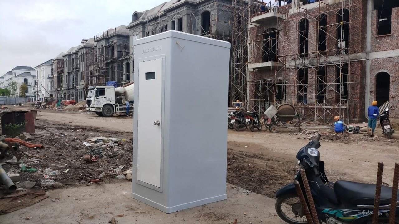 Nhà vệ sinh di động Vinacabin tại công trình