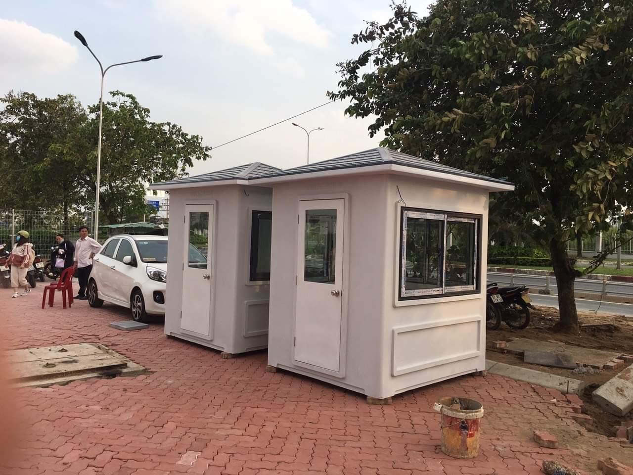 Chốt bảo vệ Vinacabin tai khuôn viên Đại học FPT thành phố Hồ Chí Minh