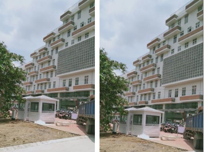 Nhà bảo vệ Vinacabin đã được giao tại công trình kiến trúc xanh của kiến trúc sư Võ Trọng Nghĩa-Đại học FPT