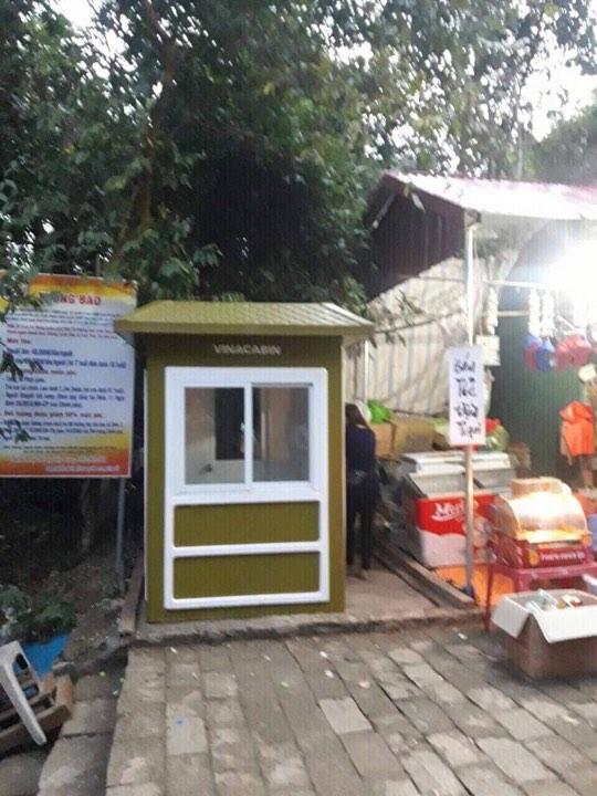 Chốt bảo vệ Vincabin tại Yên Tử
