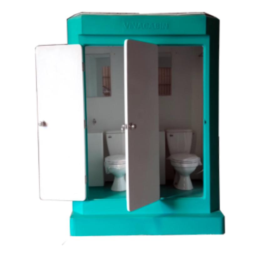 Nhà vệ sinh di động đôi V17.2C