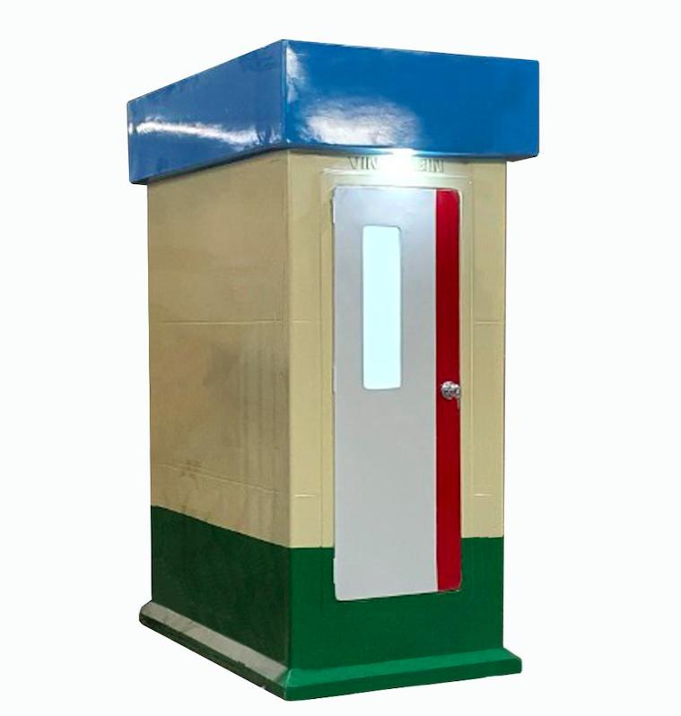 Nhà vệ sinh di động VINACABIN V18.1 đúc nguyên khối