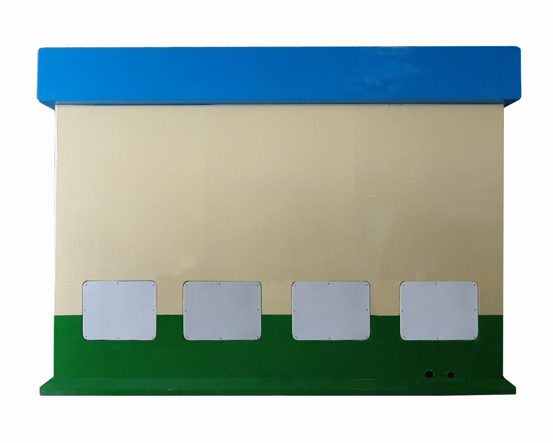 Nhà vệ sinh công cộng di động V18.4 có hộp lỹ thuật phía sau