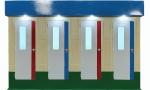 Nhà vệ sinh công cộng 4 phòng V18.4