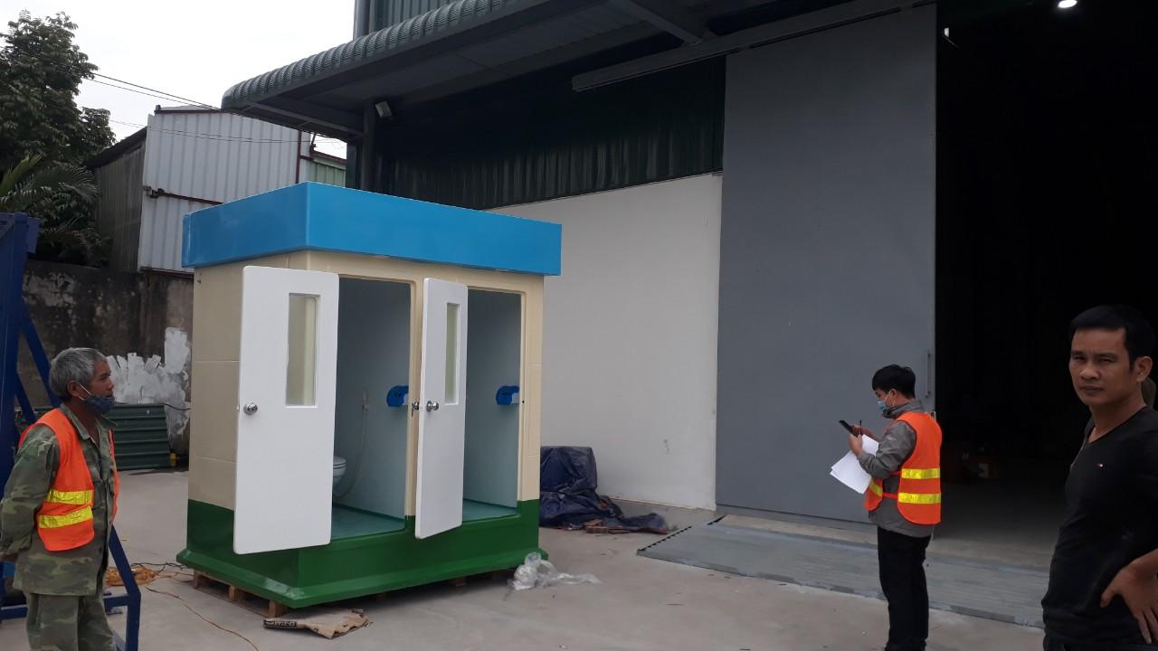 Nhà vệ sinh di động cao cấp V18.2