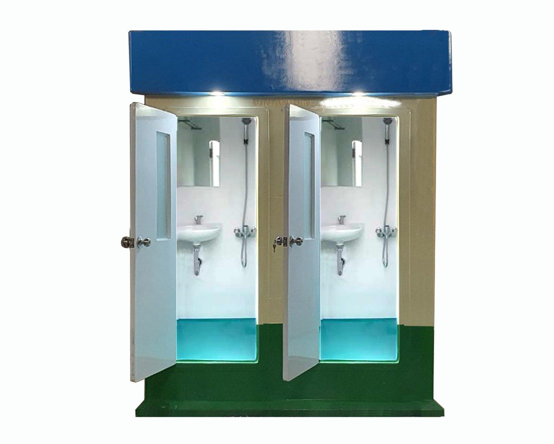 Cabin nhà tắm di động đôi V18.2S
