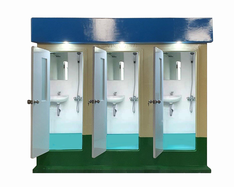 Nhà tắm công cộng 3 buồng