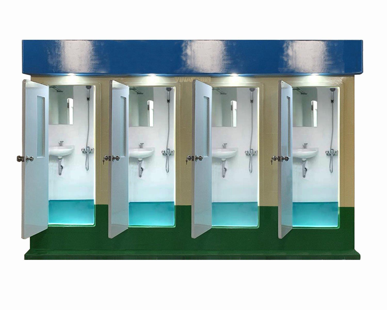 Nhà tắm công cộng di động Vinacabin V18.4S