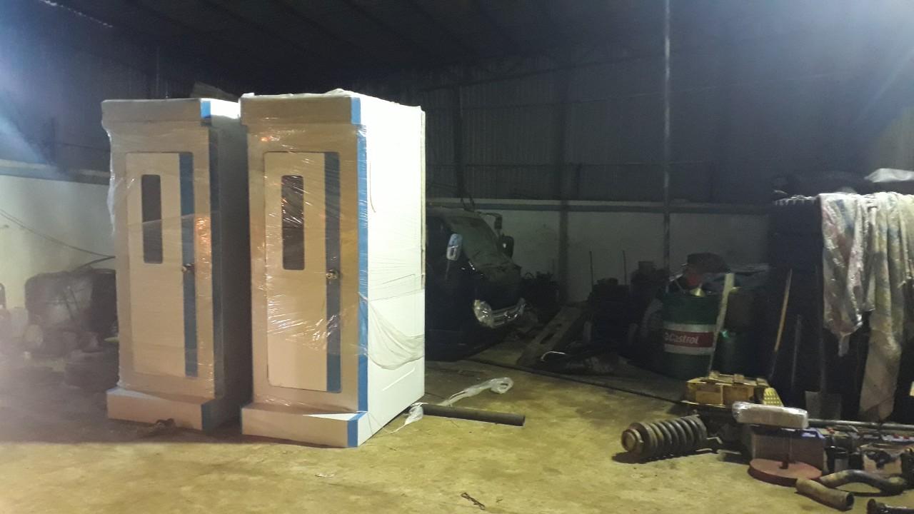 Nhà vệ sinh di động phòng chống covid-19