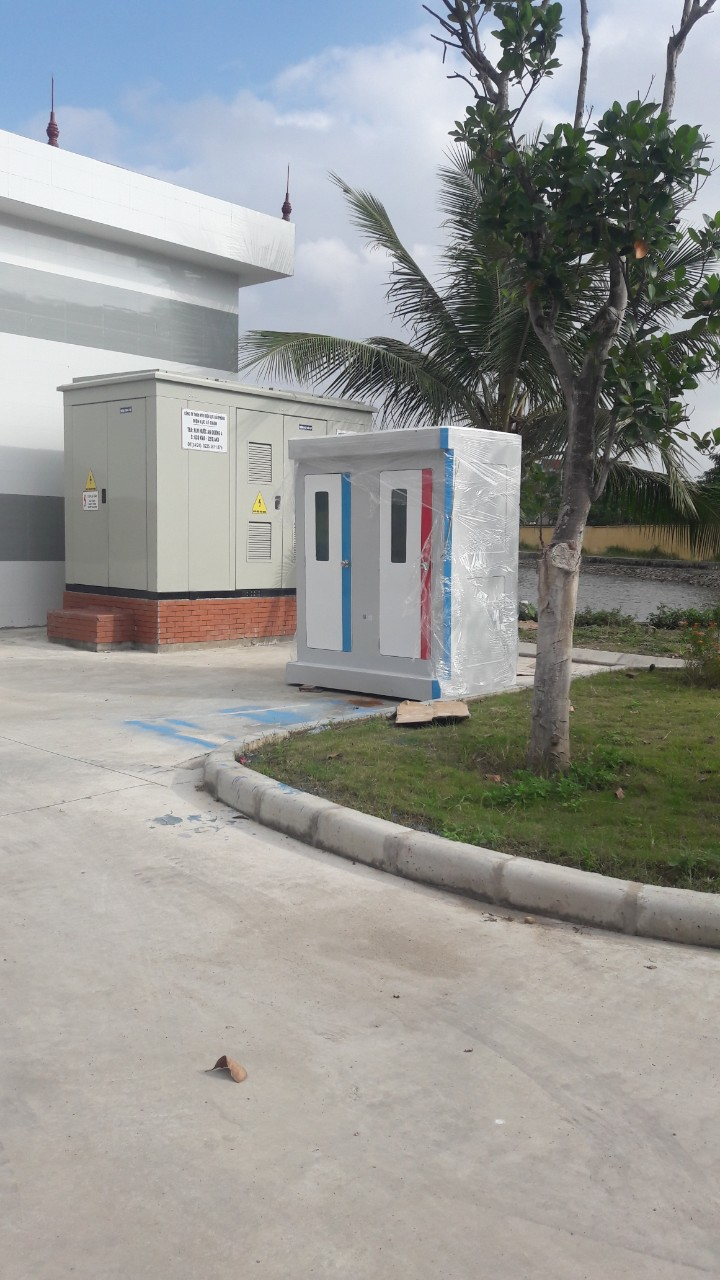 Nhà vệ sinh di động khu du lịch