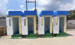 Nhà vệ sinh di động phục vụ sản xuất 3 tại chỗ