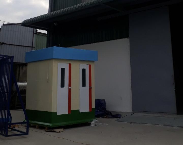 Nhà vệ sinh di động dành cho nhà máy