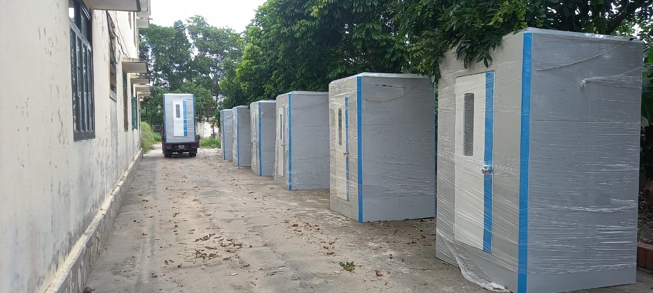 Nhà vệ sinh phục vụ cách ly covid