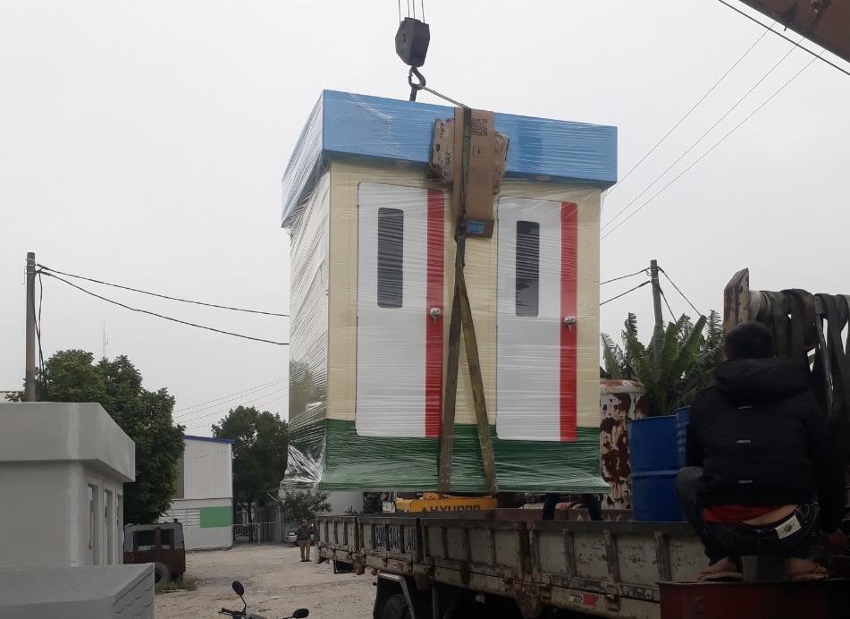 Lắp đặt nhà vệ sinh di động bãi biển