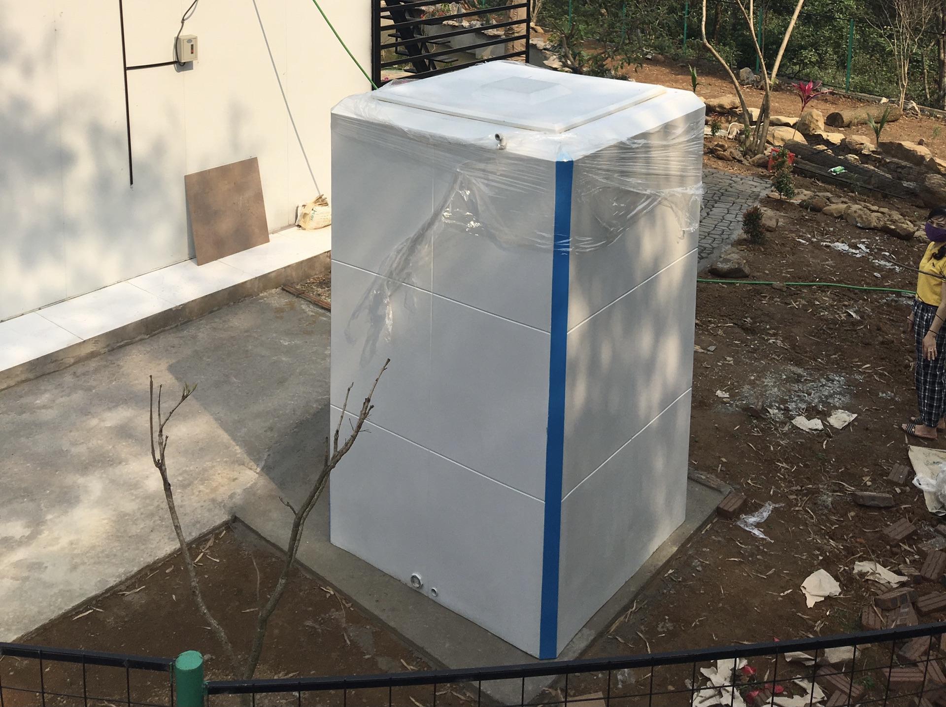 Nhà vệ sinh di động hiện đại