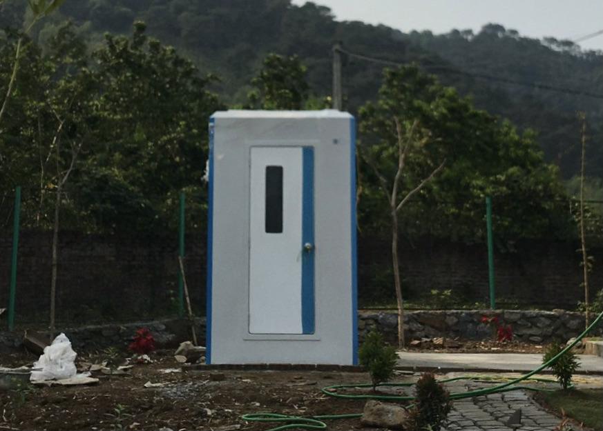 Lắp đặt nhà vệ sinh di động liền phòng tắm