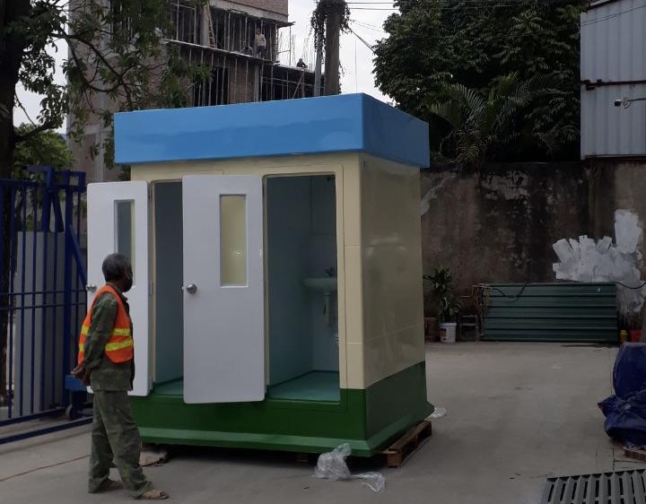 Nhà vệ sinh động dành cho nhà xưởng