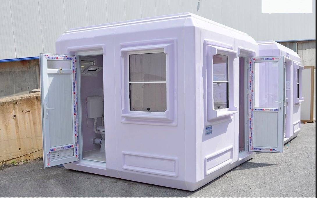Nhà vệ sinh di động phục vụ các dự án