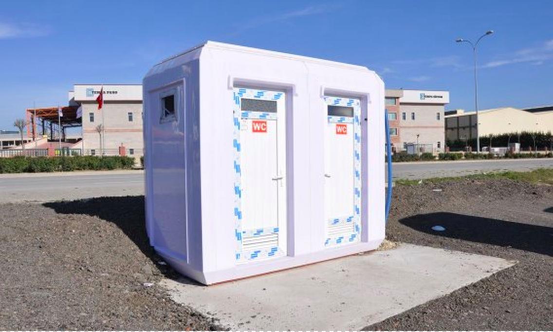 Nhà vệ sinh di động bằng composite