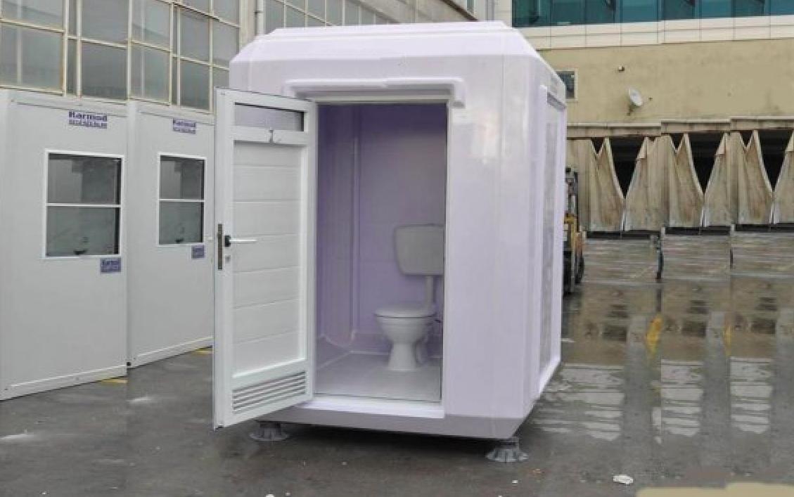 Nhà vệ sinh di động phục vụ công trường xây dựng