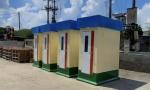 Nhà vệ sinh chống dịch covid trong nhà máy